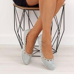 Shoes - Scalloped Ballet Flats
